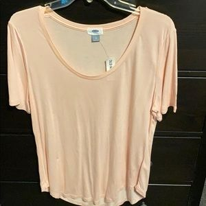Old Navy scoop neck t-shirt, size large